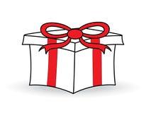 Gift Box. On white background Stock Image