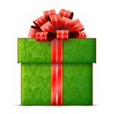 Gift box  on white background Stock Photos