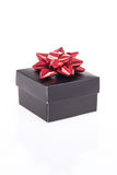 Gift box on white Royalty Free Stock Photography
