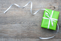 Free Gift Box With Bow Royalty Free Stock Photography - 35403277