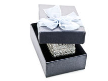 Gift Box With Jewellery Royalty Free Stock Photo