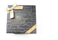 Gift box for you Stock Image
