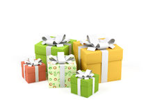 Gift boxes. Stock Photography