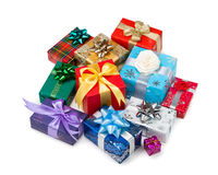 Gift boxes-107 Royalty Free Stock Image