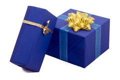 Gift boxes #14. Photo of three Gift BOxes Royalty Free Stock Photo