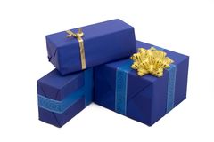 Gift boxes #16. Photo of three Gift BOxes Stock Photo