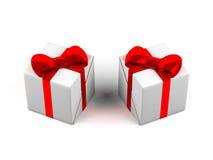 Gift boxes. Royalty Free Stock Photo
