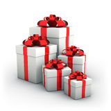 Gift boxes. Stock Photo