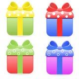 Gift boxes Royalty Free Stock Photos