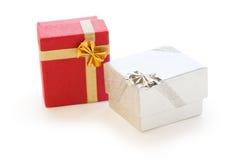 Gift boxes Stock Photos