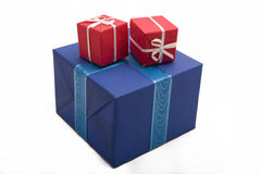 Gift boxes #27. Photo of three Gift BOxes Royalty Free Stock Photo