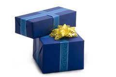 Gift boxes #31 Royalty Free Stock Photos