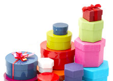 Gift boxes Royalty Free Stock Image