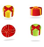 Gift Boxes. Check my portfolio for similar image Royalty Free Stock Images