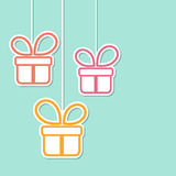 Gift Boxes Royalty-vrije Stock Foto