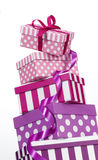 Gift Boxes Royalty-vrije Stock Foto