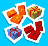 Gift Boxes Stock Fotografie