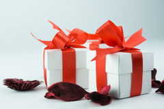 Gift Boxes Royalty-vrije Stock Foto's