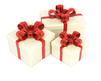 Gift Boxes Royalty-vrije Stock Afbeelding