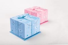 Gift Boxes Stock Afbeeldingen