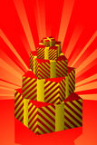 Gift Boxes. Vector illustration of Gift Boxes Royalty Free Stock Photography