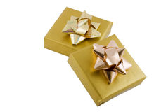 Gift Boxes Royalty Free Stock Photo
