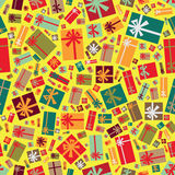 Gift boxes background Royalty Free Stock Photo