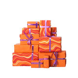 Gift boxes with bow Stock Photo