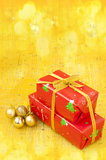 Gift boxes for Christmas Royalty Free Stock Images