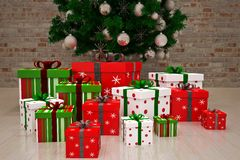 Gift boxes Royalty Free Stock Photos