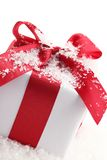 Gift boxes Closeup Royalty Free Stock Photo