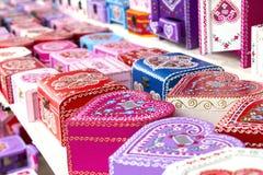 Free Gift Boxes Croatian Souvenir Stock Images - 50120124