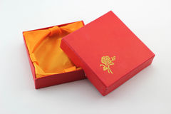 Gift boxes for jewelry Stock Images