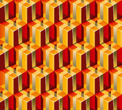 Gift Boxes Pattern Stock Images