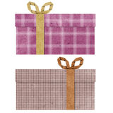 Gift boxes  recycled papercraft . Stock Photography