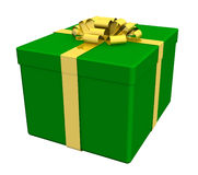 Gift boxes separated on white Stock Image
