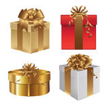 Gift boxes Royalty Free Stock Images