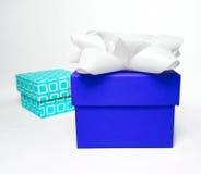 Gift boxes, studio shot Stock Image