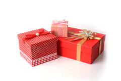Gift boxes. Royalty Free Stock Photography