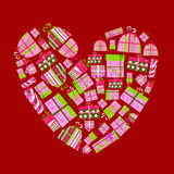 Gift Boxes Vector Royalty Free Stock Image