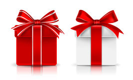 Gift boxes. Vector Royalty Free Stock Photography