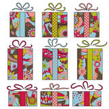 Gift boxes Stock Photography