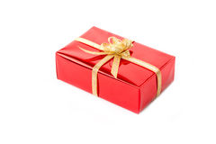 Gift boxes on white background Royalty Free Stock Photography