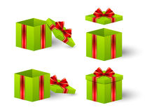 Gift boxes for Your design Royalty Free Stock Images