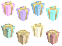 Gift boxs Royalty Free Stock Photography