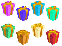 Gift boxs Stock Image