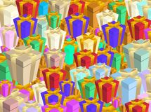 Gift boxs Royalty Free Stock Images