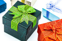 Gift boxs Stock Photography