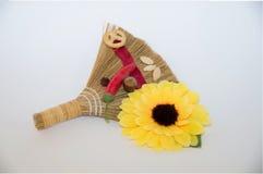 Gift broom Stock Photos