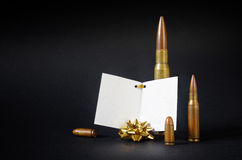Gift of Bullets royalty free stock images